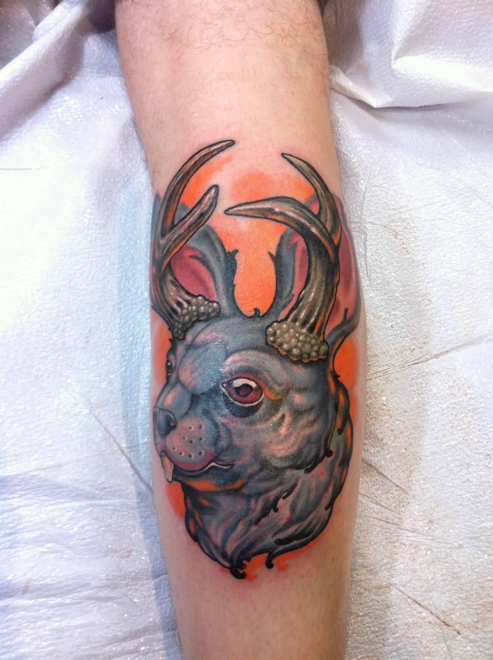 Jackalope Tattoo Meaning : jackalope, tattoo, meaning, Jackalope, Tattoo