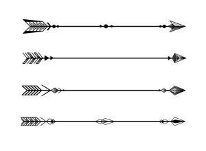 arrow tattoo arrows geometric minimalist designs compass tattoos minimal four simple askideas indian forearm thestylishpeople discover