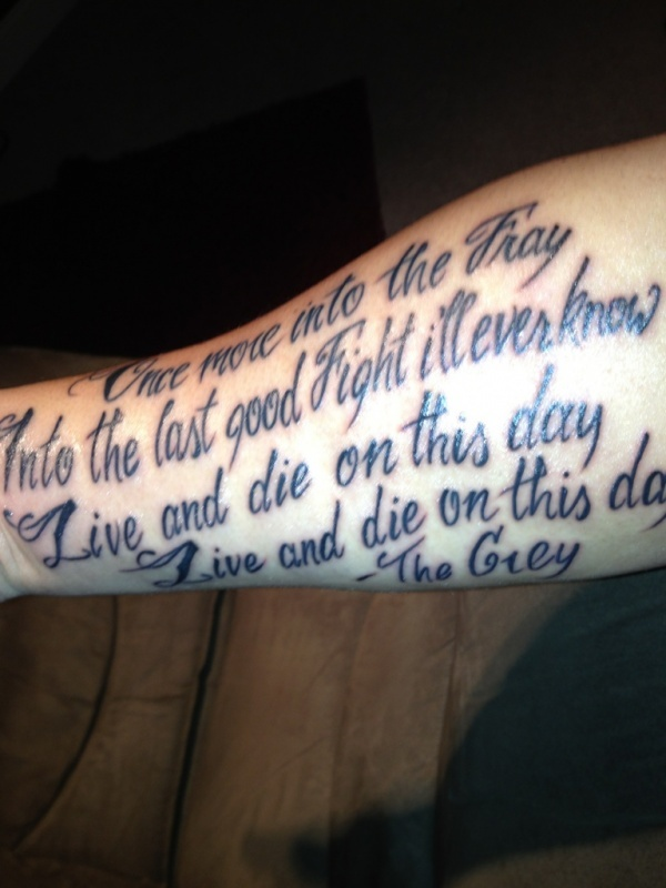 Once More Into The Fray Tattoo : tattoo, Tattoos, Ideas