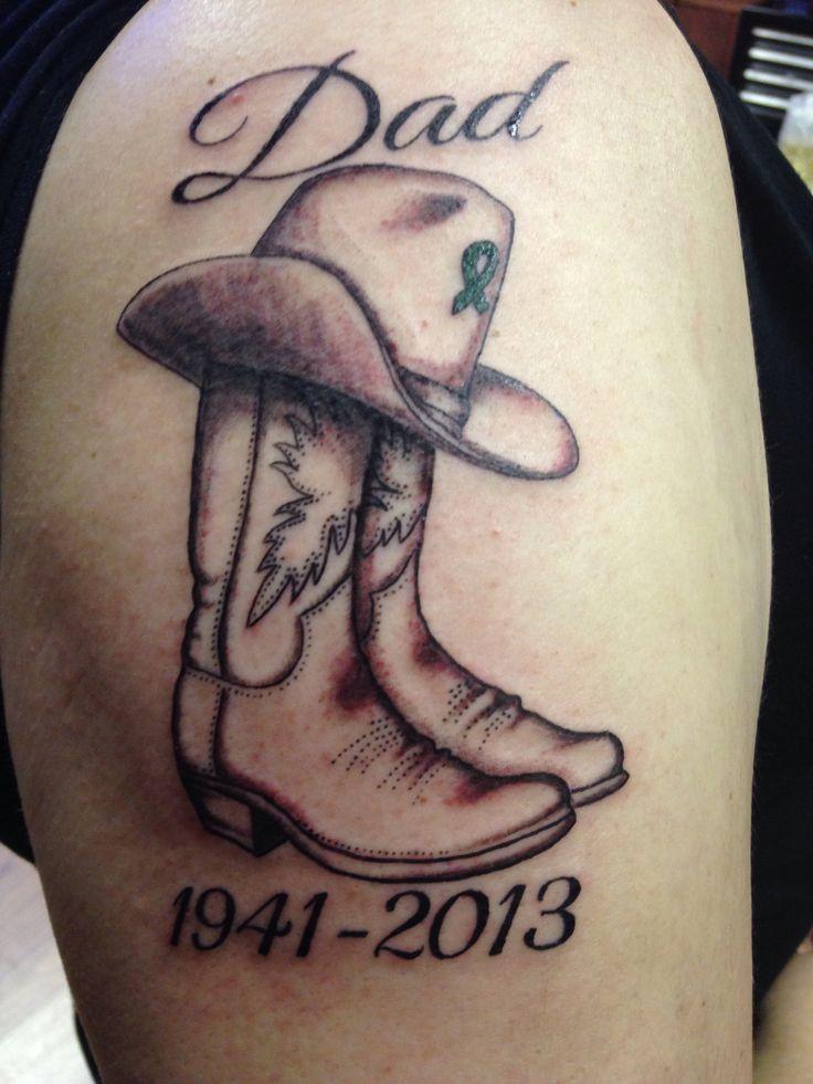 Father Memorial Tattoo : father, memorial, tattoo, Remembrance, Tattoos