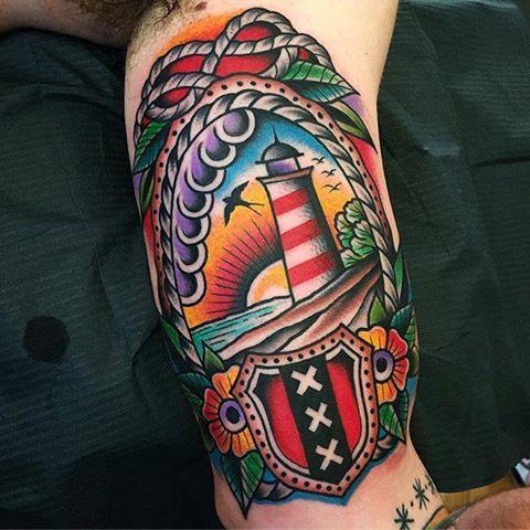 Traditional Lighthouse Tattoo  Wwwpixsharkcom Images