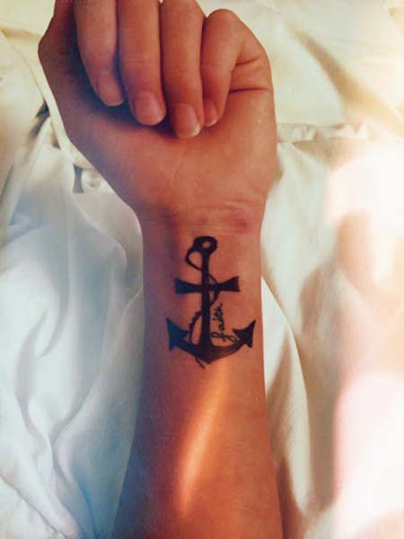 Anchor Cross Tattoos : anchor, cross, tattoos, Anchor, Cross, Tattoos, Collection