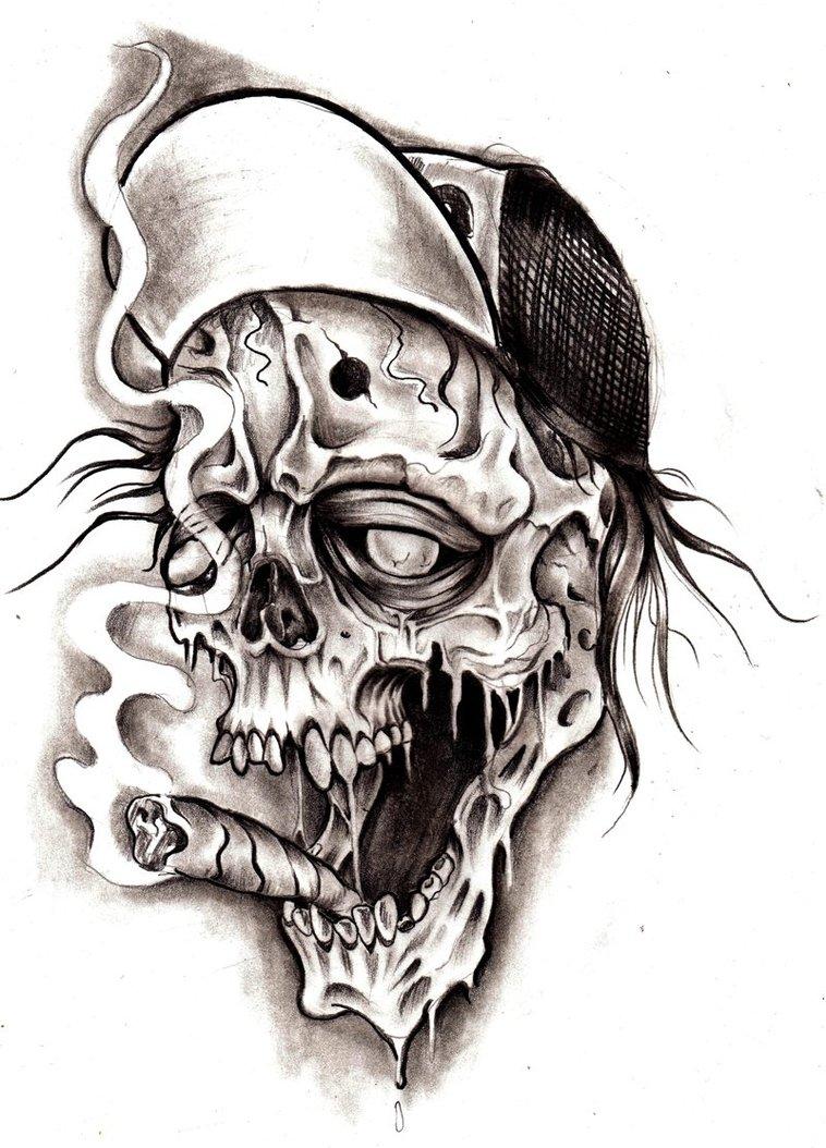 Smoke Tattoos Designs : smoke, tattoos, designs, Smoke, Skull, Tattoo, Designs, Ideas