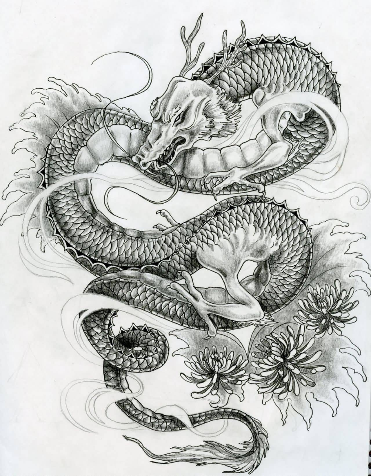 28+ Japanese Dragon Tattoos Designs