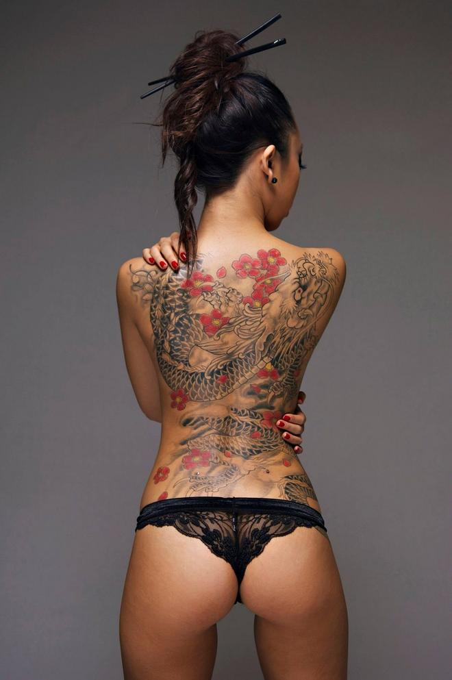Tattooed Asian Women : tattooed, asian, women, Asian, Woman, Tattoo, Gallery, Collection