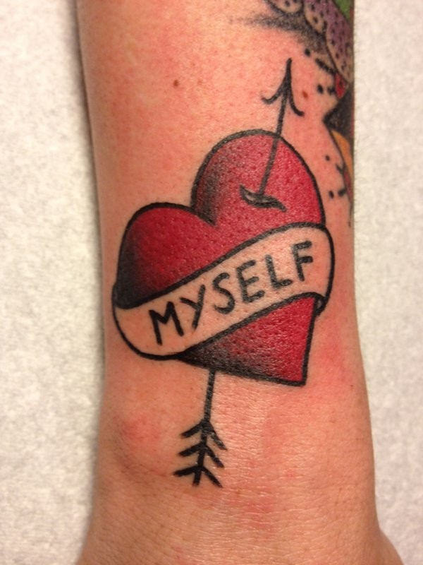 Heart Banner Tattoo : heart, banner, tattoo, Heart, Tattoos, Design, Ideas