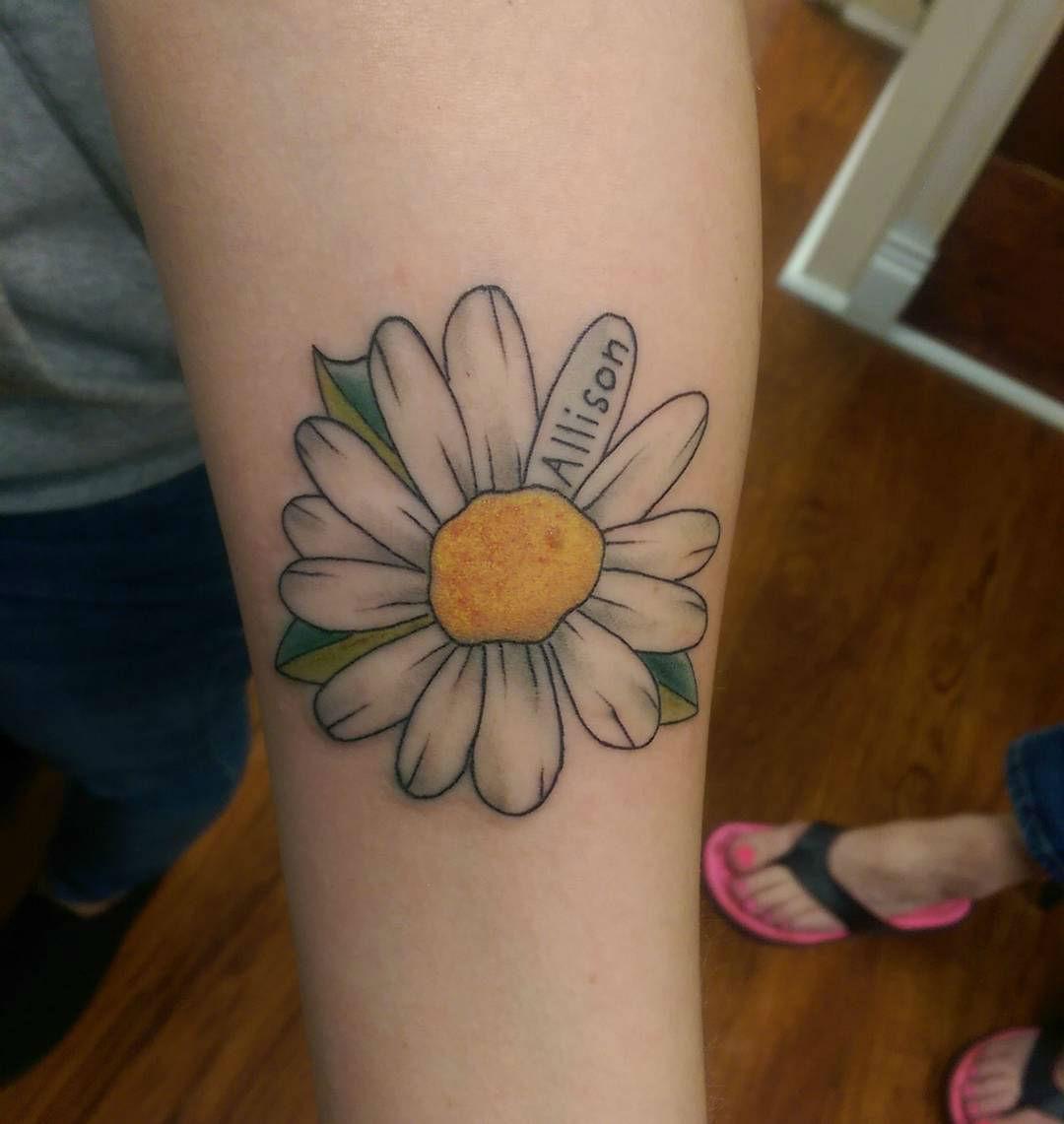 75+ Beautiful Daisy Flowers Tattoos