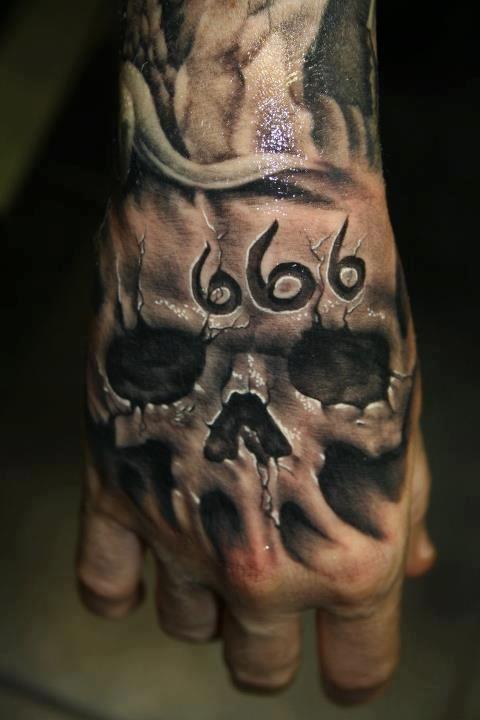 Evil Skull Tattoos : skull, tattoos, Skull, Tattoo
