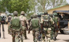 BREAKiNG: Over 500 Soldiers Heading To Benue