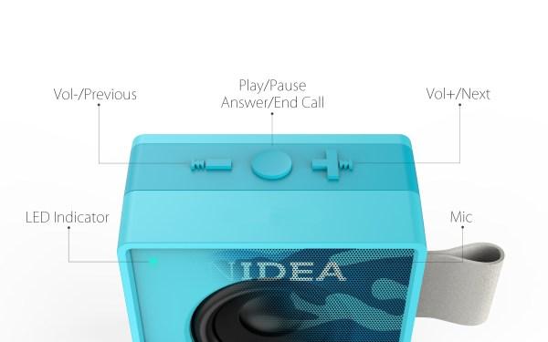 AU ASK01-002 FUN-Sucre-007 Enceinte_haut-parleur_Bluetooth_portable