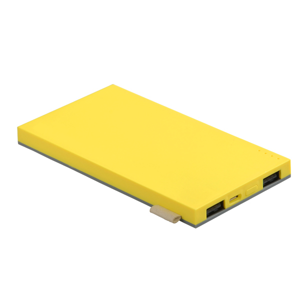 PB ASK02-004 FUN-Flat-Yellow+Grey-004_powerbank_batterie-externe_portable