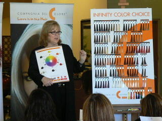 Mags Kavanaugh & Compagnia del Colore