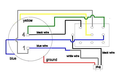 Marathon Electric Motor Model 5KC49PN0216