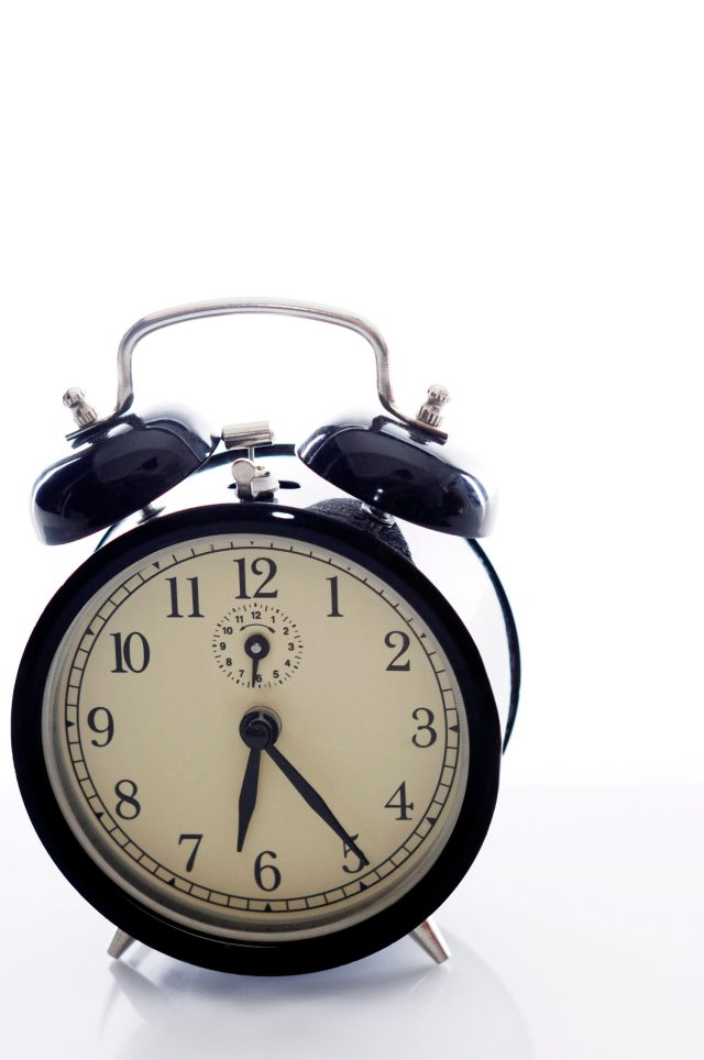 Make it a part if your healthy mornings habits not to hit that snooze button