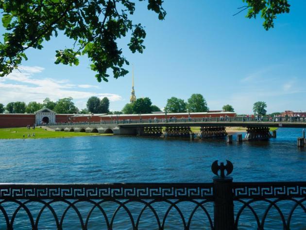 Первый деревянный мост - Петровский