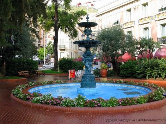 фонтаны в Монако