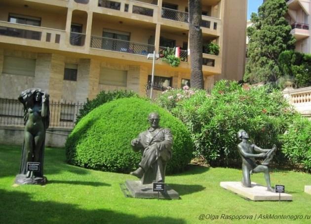 Дорога скульптур Монако