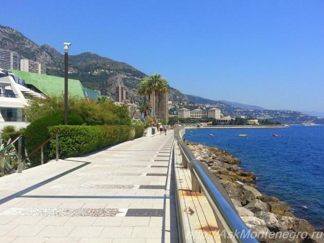 Аллея футбольных звезд Монако