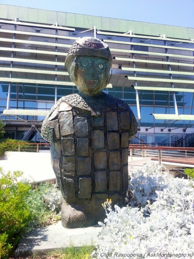 скульптура князь Монако
