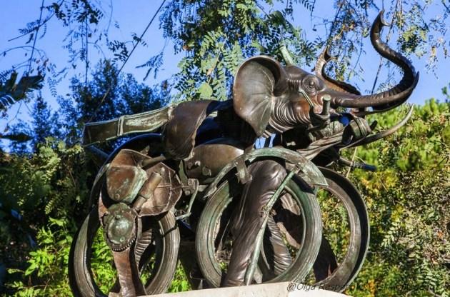 Скульптура Motophant