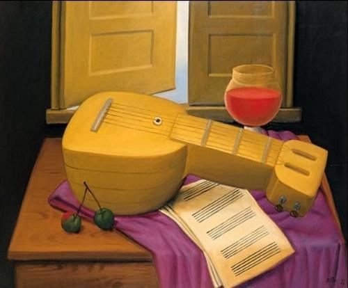 Натюрморте с мандолиной 1998