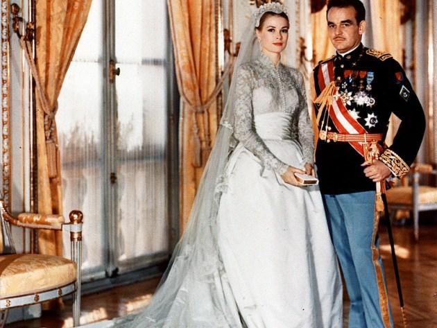 Свадьба Грейс Келли и принца Ренье