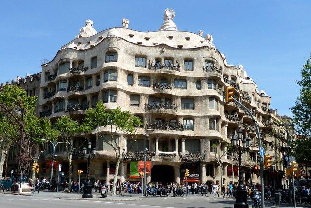 Дом Мила (Педрера). Барселона