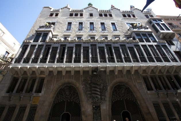 Дворец Гуэль стал второй работой Гауди для мецената