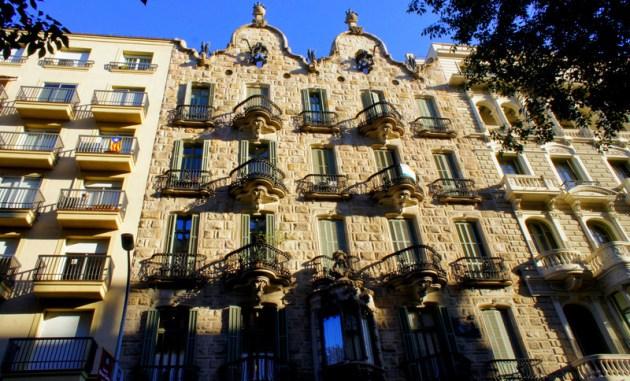 Дом Кальвет - еще одно творение Антонио Гауди