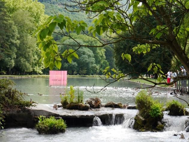 Озера в парке Визиль