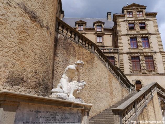 Средневековый замок фото