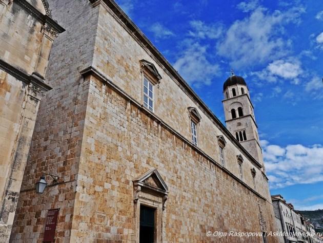 Франисканский монастырь в Дубровнике