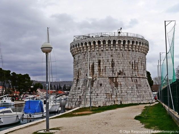 башня святого марка Трогир