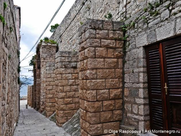 городские стены Корчула