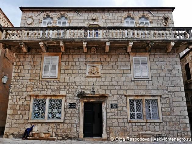дворец епископа корчула
