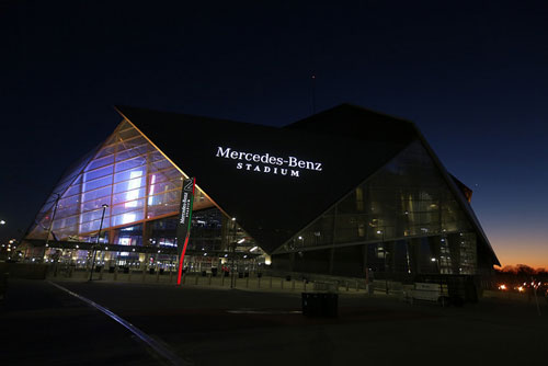 Senior leadership meeting held january 3 4 in atlanta for Mercedes benz stadium atlanta hotels