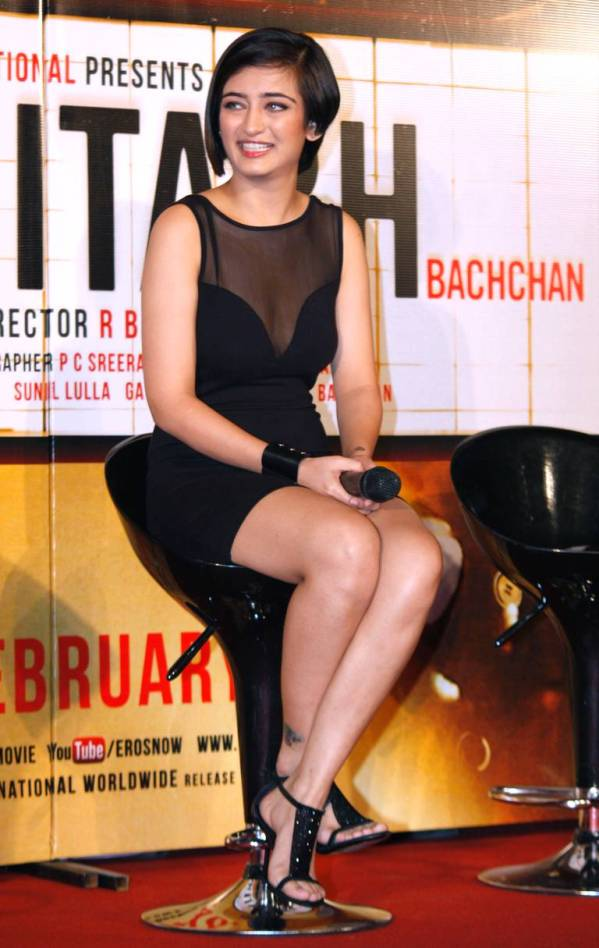 Akshara Haasan Shamitabh Trailor launch