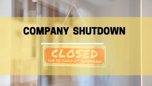 creative expression of business closure