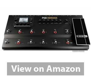 Best Multi Effects Pedal: Line 6 POD HD500X Multi-Effects Pedal Review