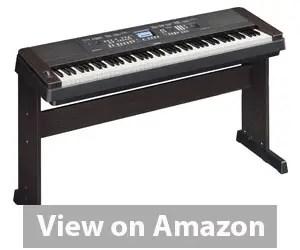 Best Electric Piano - Yamaha DGX650B 88-Key Digital Piano Bundle Review