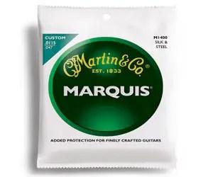 Martin M1400 Marquis Silk & Steel Folk Acoustic Strings, Light Review