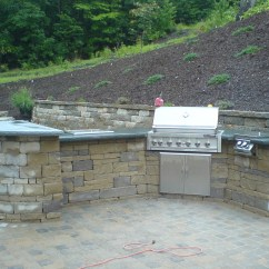 Building An Outdoor Kitchen Cabinets Design With Islands Tips For Your Ask The Landscape Guy