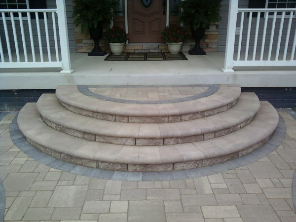 paver patio steps designs Ask the Landscape Guy | You have questions…We have answers