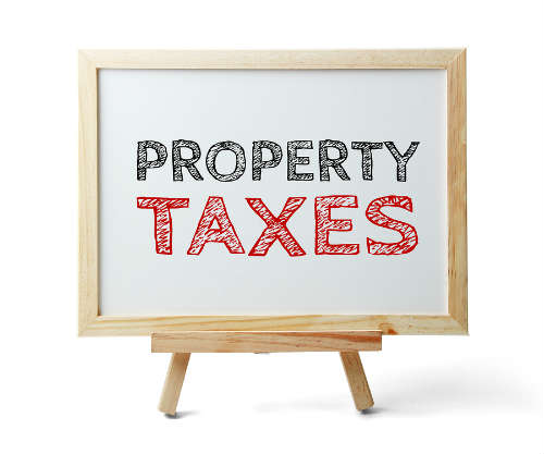 lower property taxes