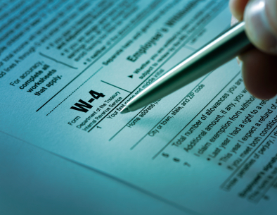 W-4 Tax Witholding