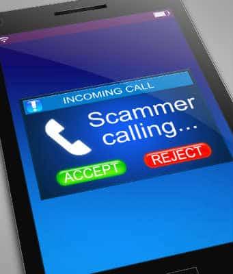 scam callers