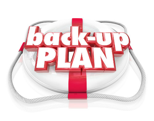 financial back up plan
