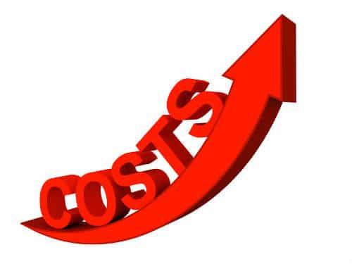 bank fees rising costs