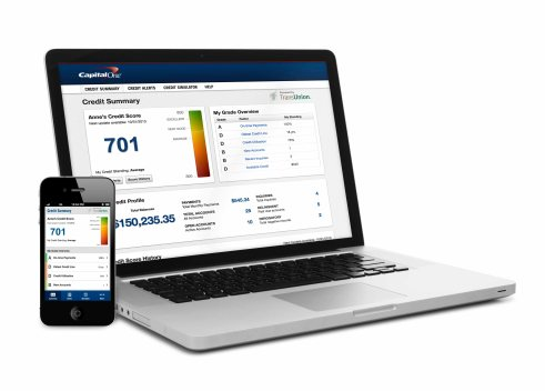 Capital One Credit Tracker Tool