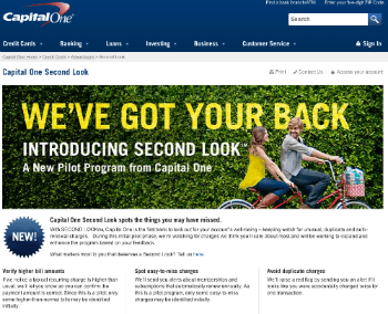 Second Look from Capital One3